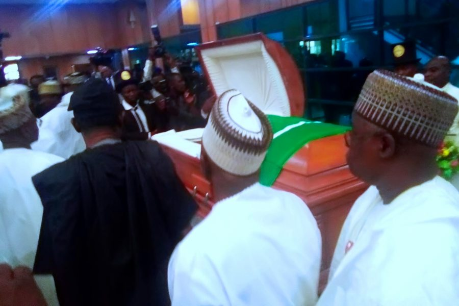 Encomiums as senators pay tribute to Sen. Uwajumogu ..I regretted not discussing with him before he died- Sen. Musa