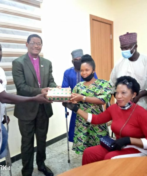 Archbishop Pledges to Assist People Living with Disabilities